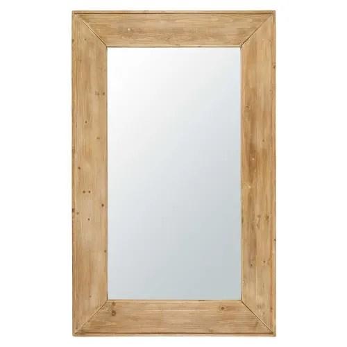 Miroir En Sapin 100x160 Forest Maisons Du Monde