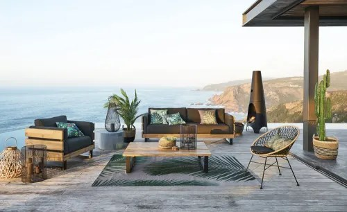 outdoor beistelltisch verarbeitung zement h 35cm maisons du monde