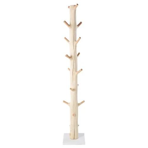 porte manteau tronc d arbre en mangoustanier maisons du monde