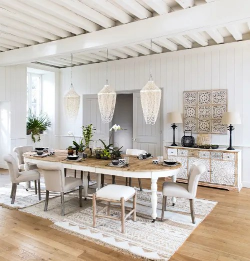Shell And Mother Of Pearl Pendant Horizon Maisons Du Monde