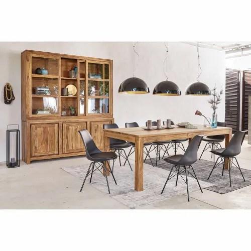 Table A Manger En Sheesham Massif 10 Personnes L220 Stockholm Maisons Du Monde