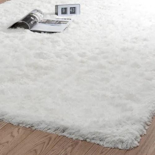 tapis a poils longs ecru 160 x 230 cm maisons du monde