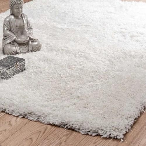 tapis a poils longs ecru 200 x 300 cm maisons du monde