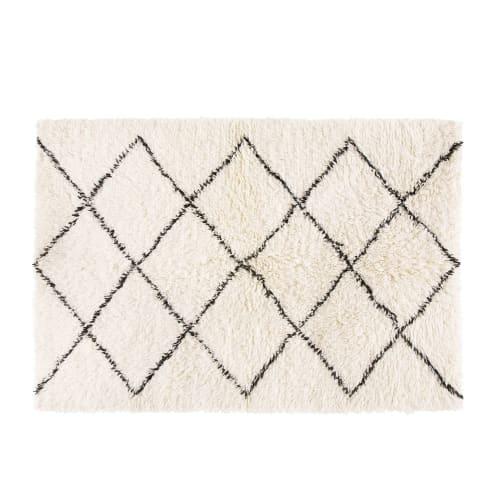 tapis berbere en laine et coton 160x230 maisons du monde