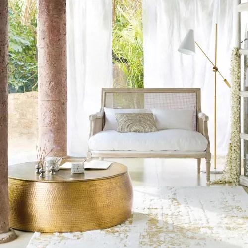 tapis blanc et beige 160x230 maisons du monde