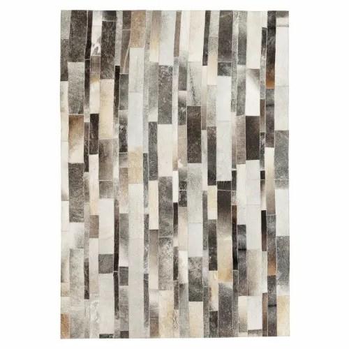 tapis en cuir 140x200 maisons du monde