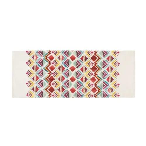 tapis imprime ethnique multicolore 80x200 maisons du monde