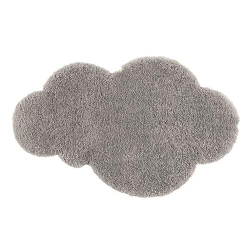 tapis nuage gris 60x100 maisons du monde