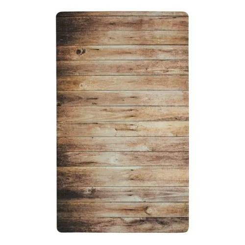 tapis de cuisine imprime bois marron 45x75 maisons du monde