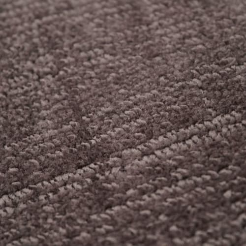 tapis aspect velours taupe 120x170 maisons du monde