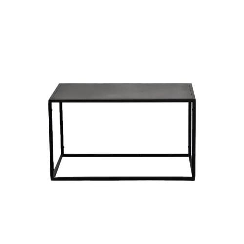 table basse rectangulaire noir maisons du monde