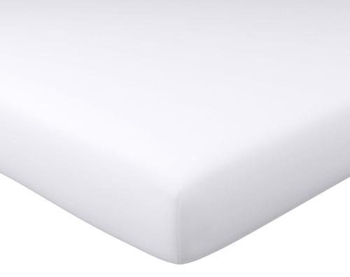 Drap Housse 120x190 En Coton Blanc Coton Maisons Du Monde