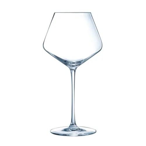 verre a vin rouge 52cl en cristallin lot de 6 maisons du monde