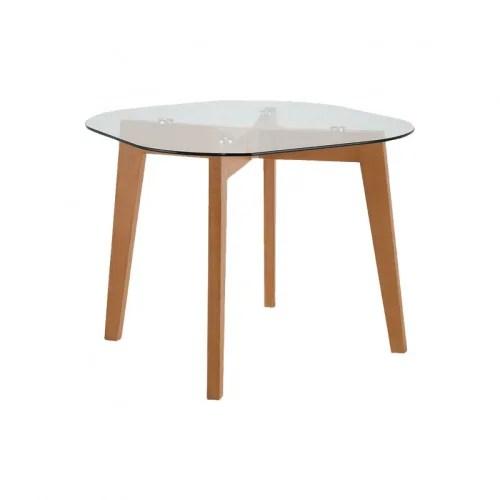 https www maisonsdumonde com fr fr p table de repas 4 personnes en bois et plateau en verre m21014765 htm