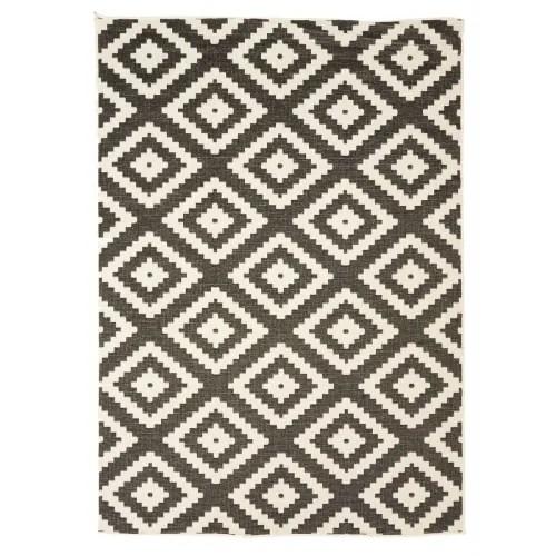 tapis exterieur en polypropylene noir 280x380 maisons du monde