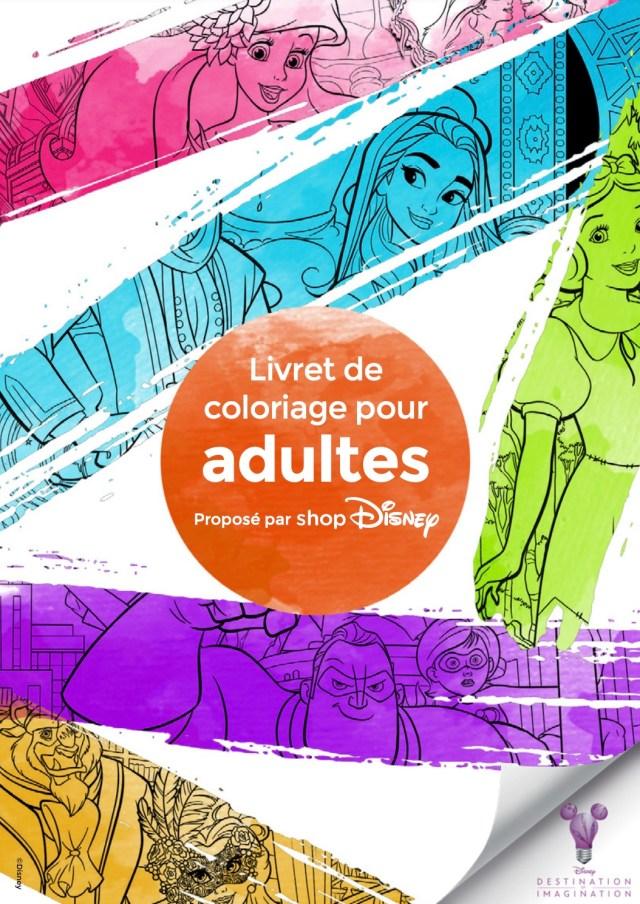 Livre Disney coloriage pour adulte à imprimer gratuitement
