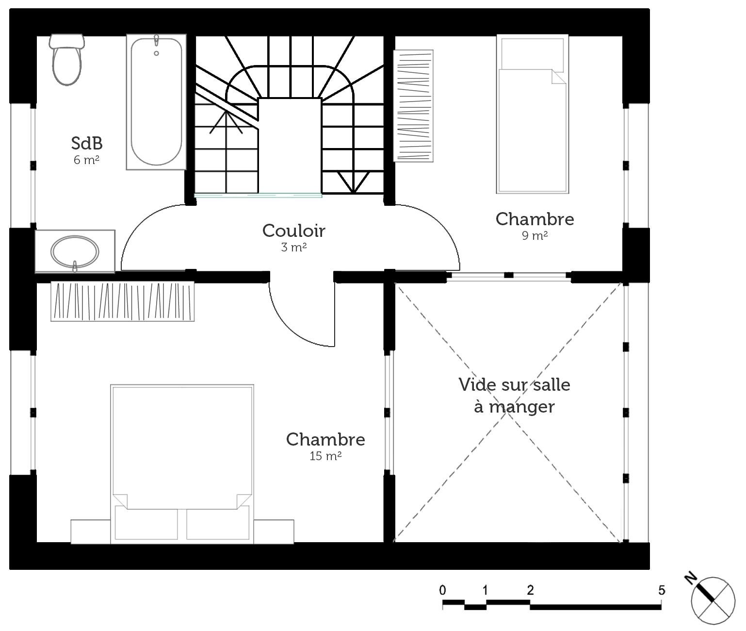 2 Chambre Plans De Maison De Plage Est Incroyable