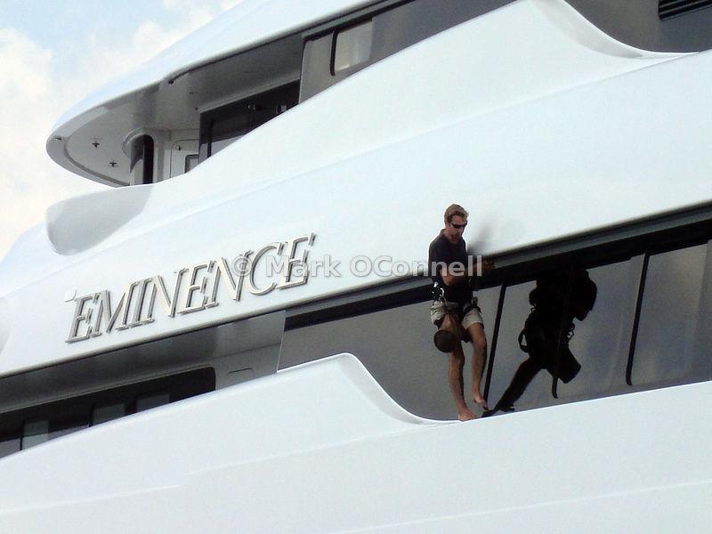 Mark OConnell Photography Washdown Motor Yacht Eminence