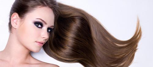 visage femme cheveux