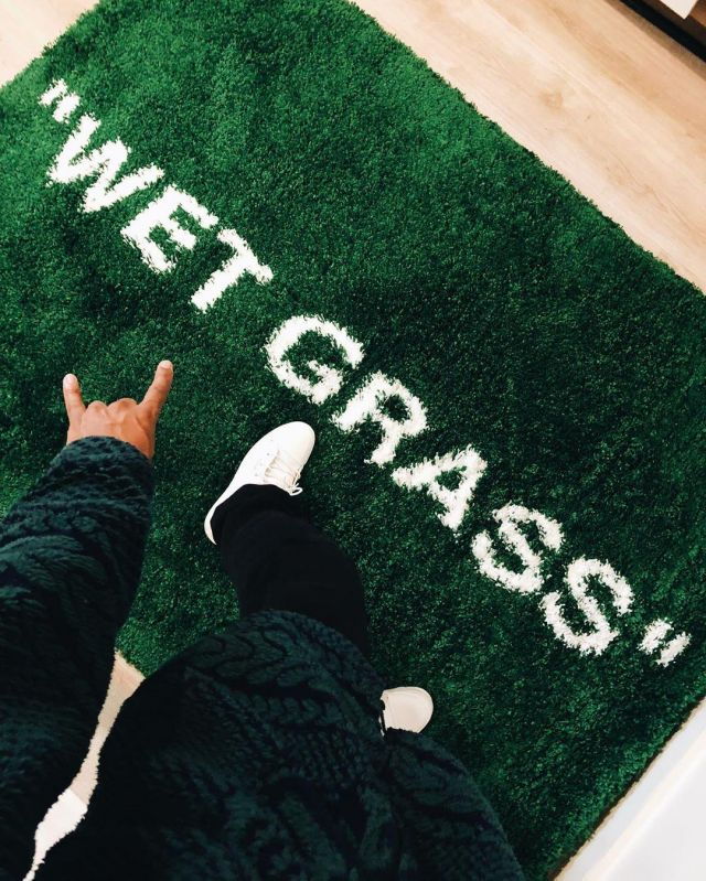 carpets off white wet grass virgil