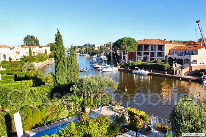 Maison Marina Port Grimaud Golfe De Saint Tropez Achat
