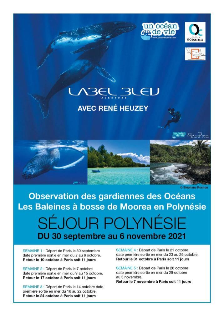 Séjour Polynésie 2021