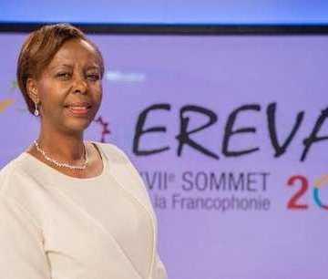 Ali Bongo Ondimba salue la nomination de Louise Mushikiwabo à la tête de l'OIF