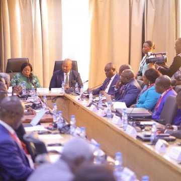 Les gouverneurs en séminaire de formation sur le développement des chaînes de valeur