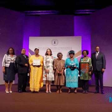 Droit des femmes : le 1er prix Agathe OKUMBA D'OKWATSEGUE remis à l'ODEFPA