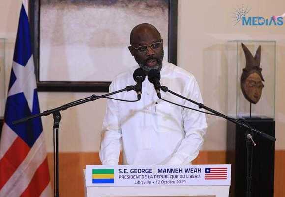 GEORGE WEAH PRÔNE LA CONSOLIDATION DE L'AXE LIBREVILLE-MONROVIA