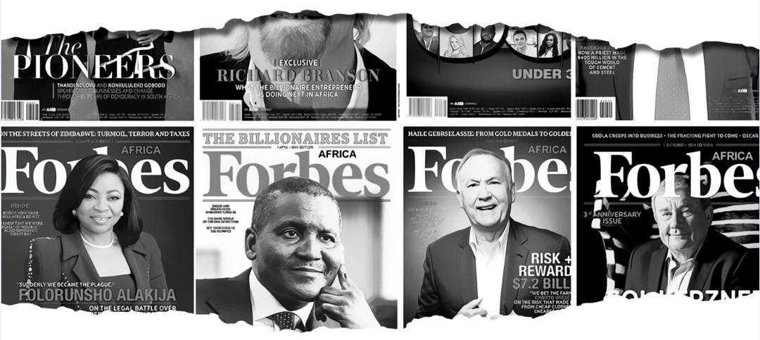 FORBES DÉMENT AVOIR PUBLIÉ EN 2019, UN CLASSEMENT DES PRESIDENTS AFRICAINS LES PLUS RICHES