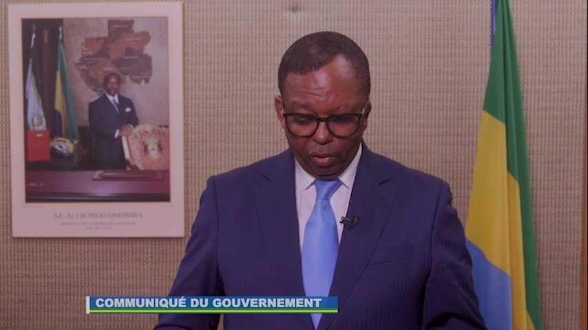 EDGAR ANICET MBOUMBOU MIYAKOU : « IL N'Y A AUCUNE VAGUE D'ENLEVEMENTS D'ENFANTS AU GABON»