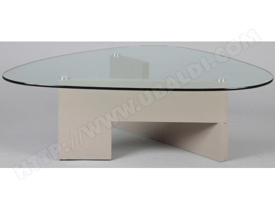pegane table basse verre pied bois l 127 x l 91 x ht 40 cm pegane ma 82ca182tabl qb1ij