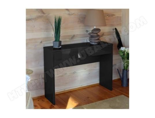 price factory meuble d entree console arena coloris noir meuble design pour votre entree ma 76ca182meub 6xuyf