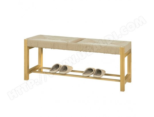 sobuy fsr68 n banc a chaussures design banquette meuble d entree l110 cm fsr68 n