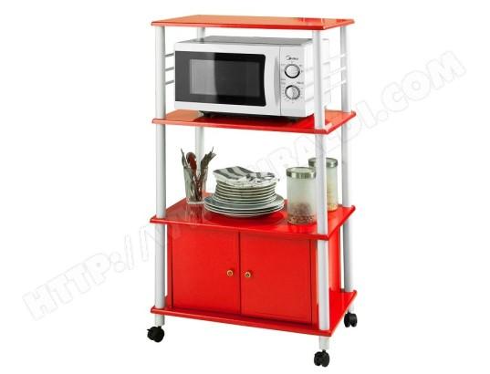 sobuy frg12 r meuble de rangement cuisine roulant chariot de cuisine de service micro ondes desserte micro onde a roulettes en bois frg12 r
