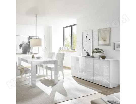 kasalinea salle a manger design blanc laque buffet 180 cm nerina ma 91ca492sall zve1n