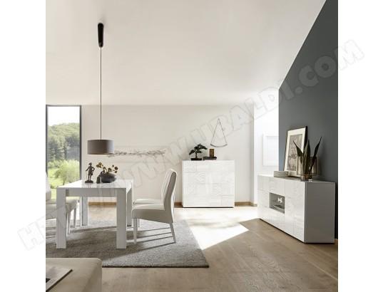 kasalinea salle a manger design blanc laque buffet 180 cm nerina ma 91ca492sall yn25p