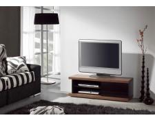 meuble tv noir laque achat vente