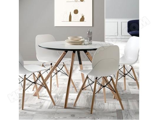 sofamobili table ronde scandinave blanche et bois ildra tabs1160001
