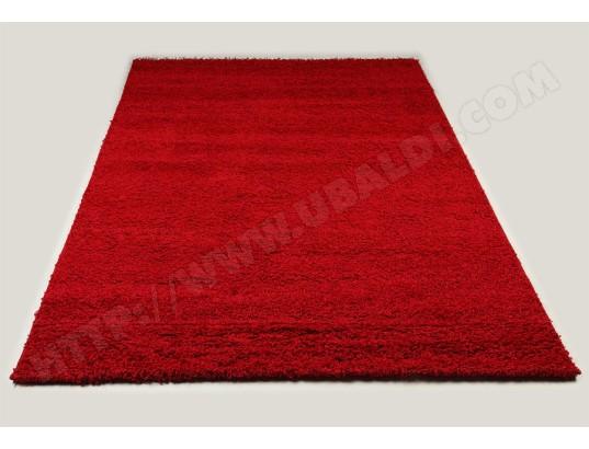 sofamobili tapis shaggy rouge de salon vasco 4 tap 019 2