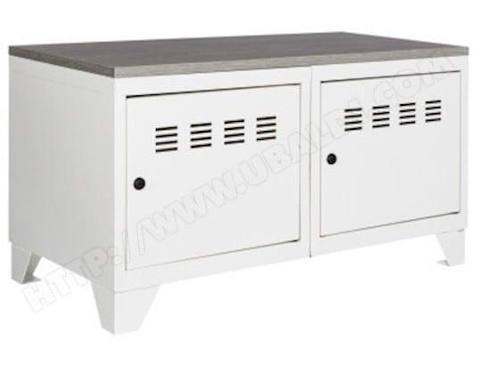 pierre henry meuble bas industriel metal 15670