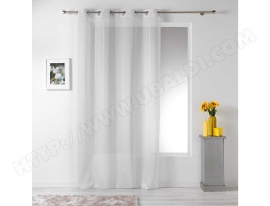 douceur d interieur rideau voilage linahe 140x260cm blanc ma 49ca528cdaf bfbhe