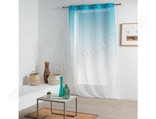 douceur d interieur rideau voilage vitalia 140x260cm bleu ciel ma 49ca528cdaf kyiuc