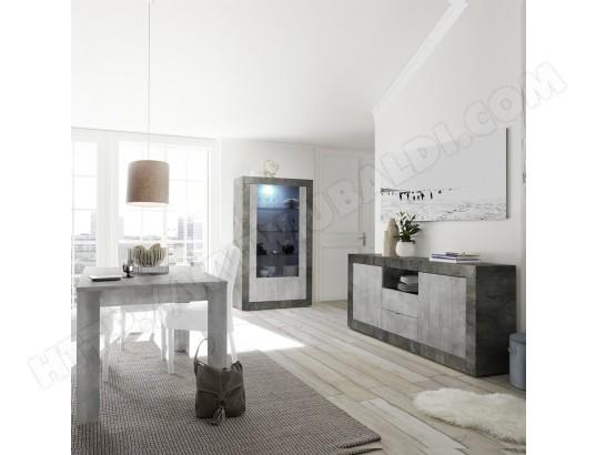 sofamobili salle a manger complete moderne gris beton serena 8 ma 11ca492sall 8aeuo