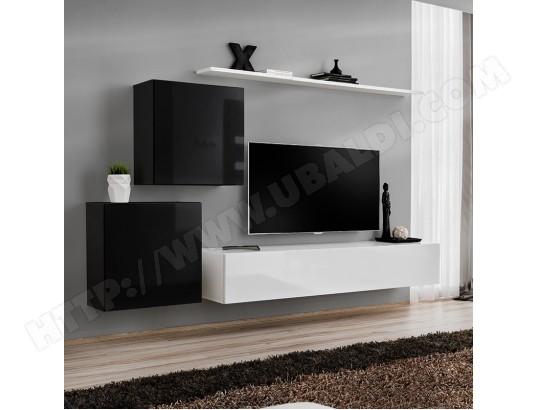 nouvomeuble ensemble meuble tv noir et blanc padula 2 ma 82ca487ense rqcni