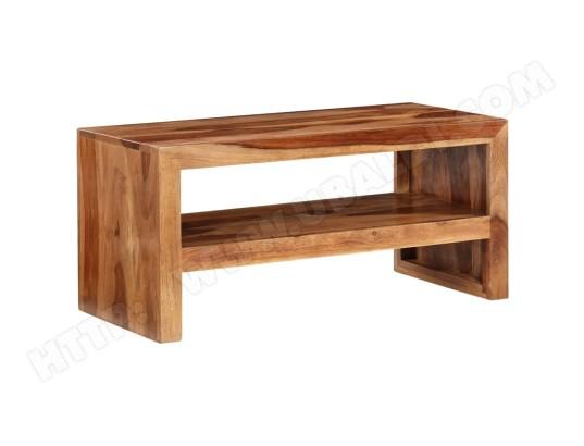 icaverne icaverne meubles tv superbe table d appoint et support tv bois massif de sesham icav241622