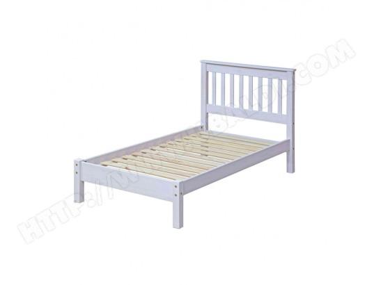terre de nuit lit en bois blanc 90x190 lt026 ma 69ca230lite 6vr8w