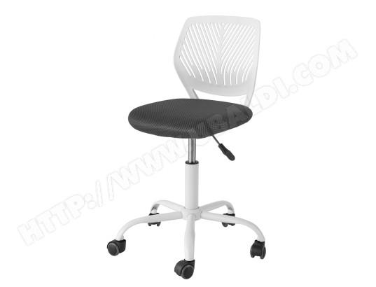 sobuy fst64 w chaise de bureau ergonomique fauteuil pivotant chaise pour ordinateur hauteur reglable l55cmxp55cmxh 77 89 cm ma 10ca549fst6 282r5