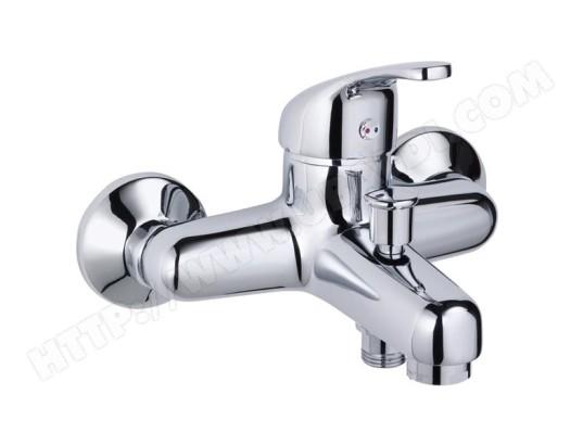 tbd robinet mitigeur mural de bain douche chrome design pour baignoire ma 15ca60 robi 3v2m1